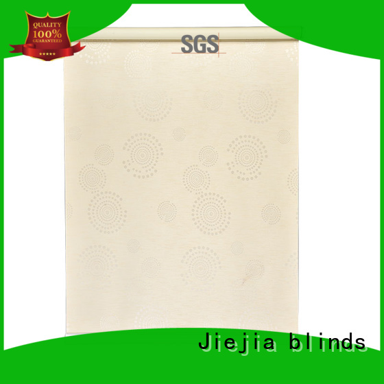 Adjustable Blackout Blind Stardeco Jacquard Blackout Electric Roller Blind For Hotel
