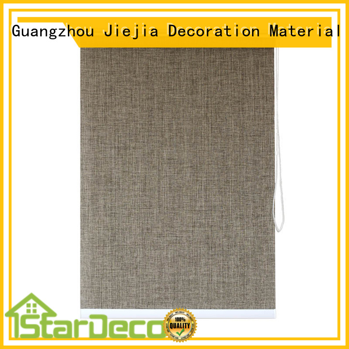 Jiejia Top roller blind accessories for business restaurant