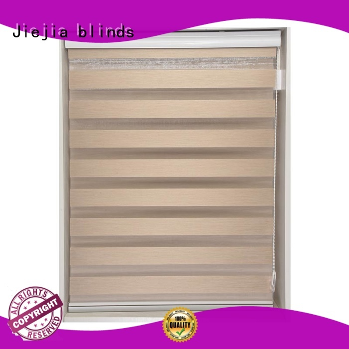 Jiejia zebra curtains blind high quality house