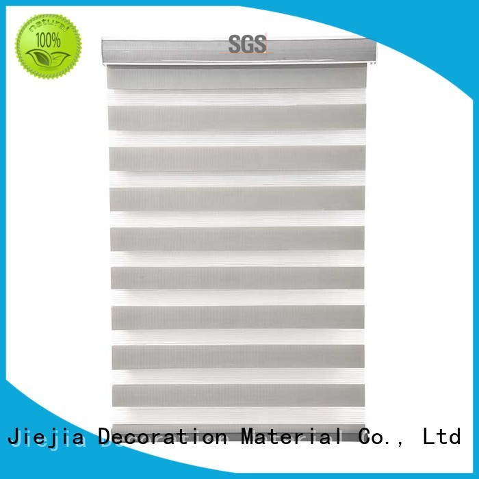 Jiejia horizental zebra window coverings horizontal restaurant