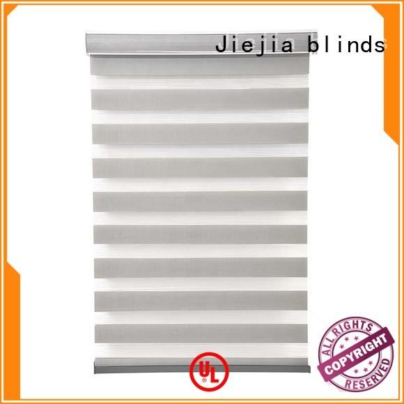 Jiejia manufacturer zebra window coverings high quality office