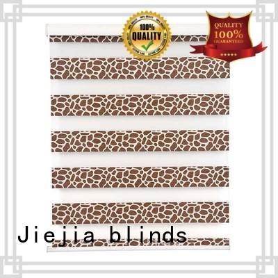 Jiejia custom zebra blinds wholesale restaurant