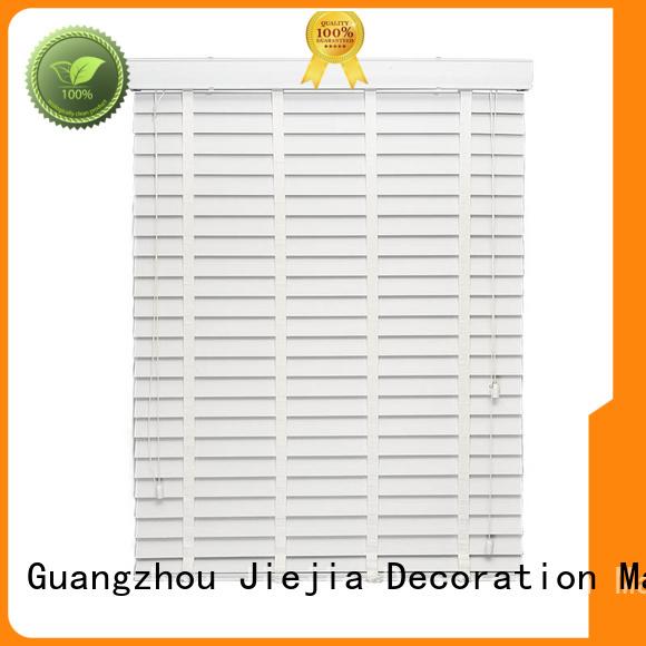 Jiejia manual ladder vertical venetian blinds flameproof room