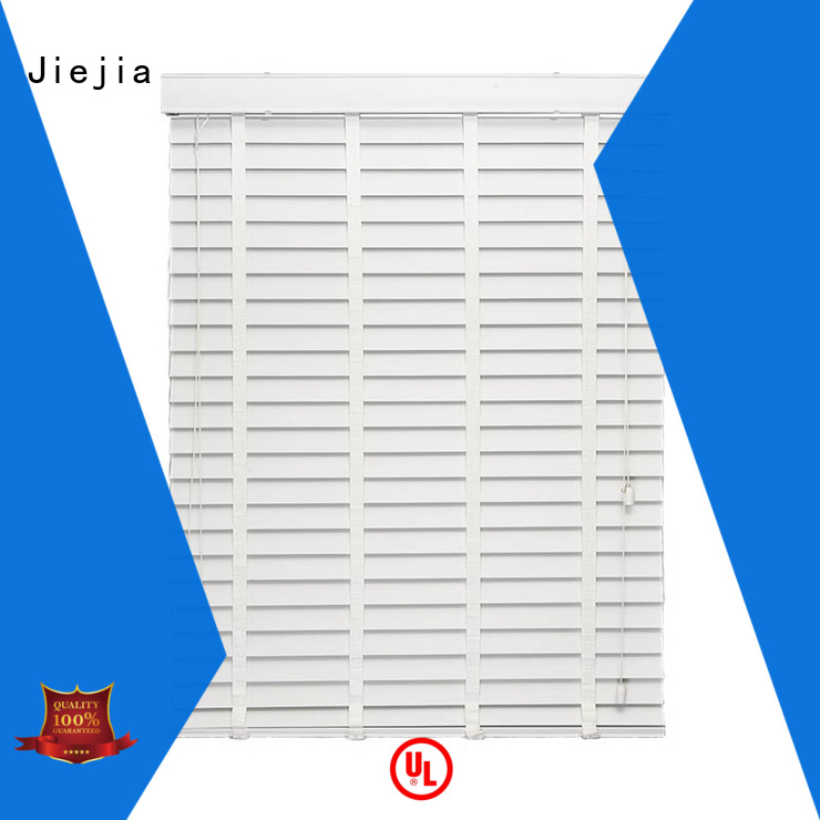 Jiejia timber venetian blinds sunscreen house