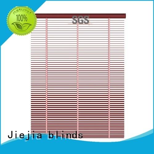 Jiejia sunscreen metal venetian blinds latest restaurant