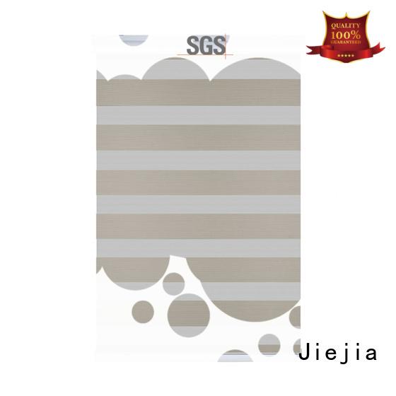 Jiejia blackout zebra blinds flameproof house