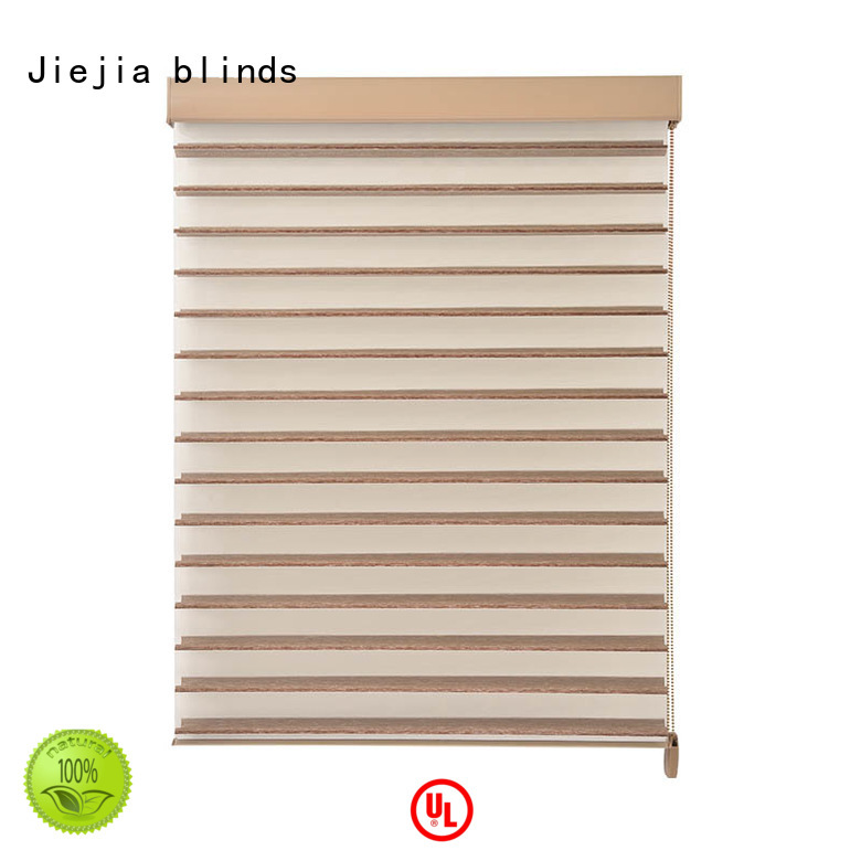 Jiejia OEM shangri la window shades bay window house