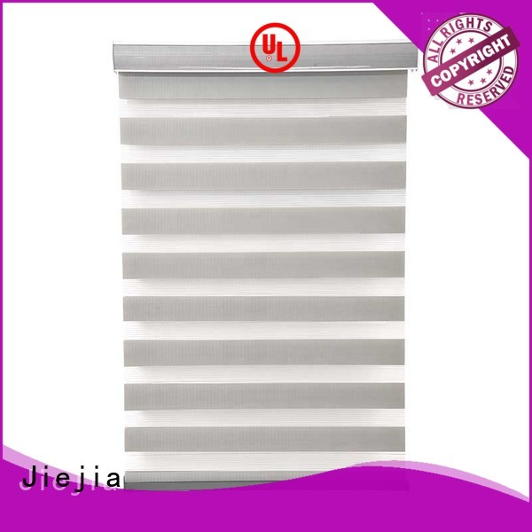 High Quality Horizontal Motorized Zebra Blinds