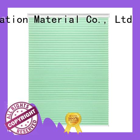 Decorative Window Shade Cordless Green Honeycomb Best Blackout Cellular Shades