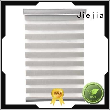 Jiejia new design zebra curtains for windows high quality house