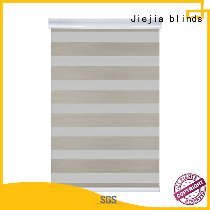 Jiejia Top brown blackout roller blinds Suppliers restaurant