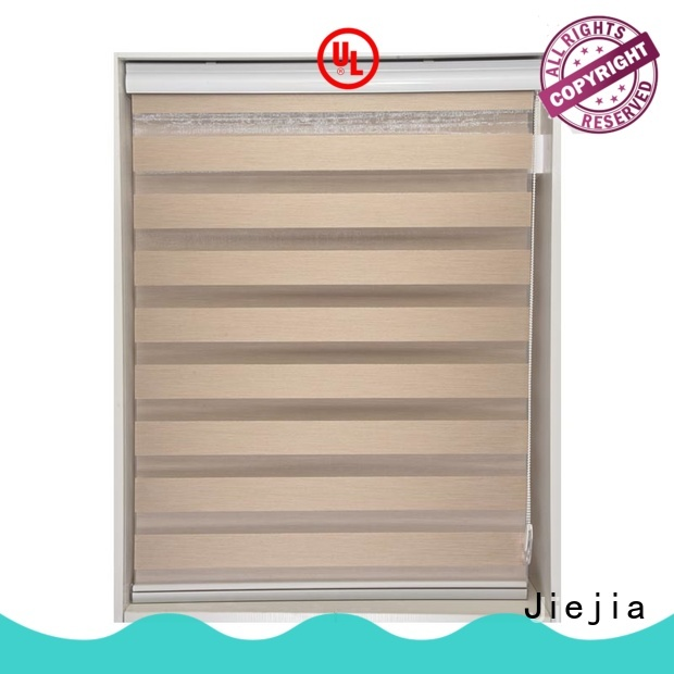 zebra blind curtain motorized house Jiejia