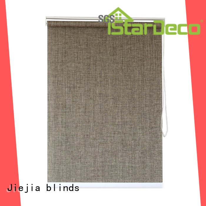 Jiejia Custom can you see through vertical blinds at night anti-uv house
