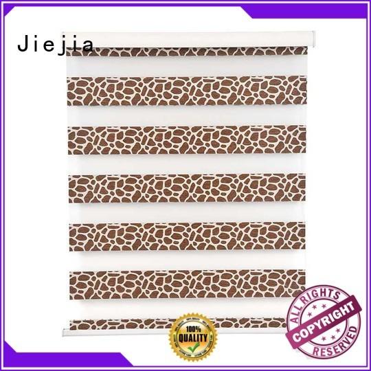 Jiejia blackout zebra blinds sunscreen house