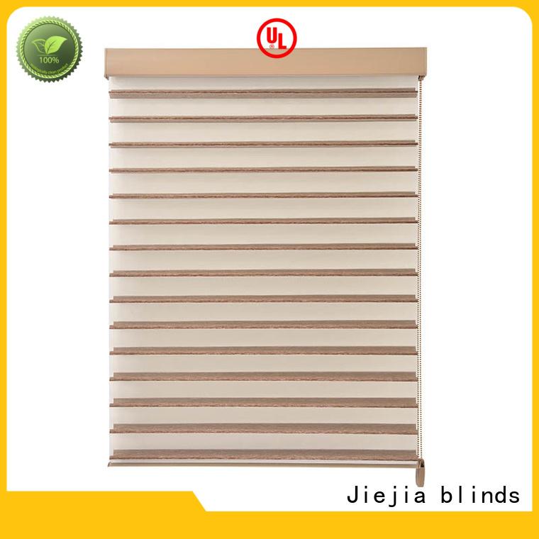 Jiejia ODM one way blinds 100%Polyester restaurant