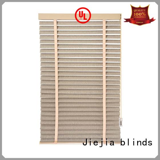 Jiejia Best wooden venetian blinds made to measure company house