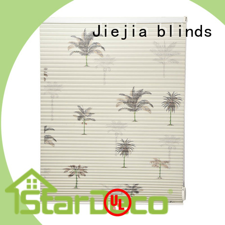Jiejia blackout double cellular shades factory price restaurant