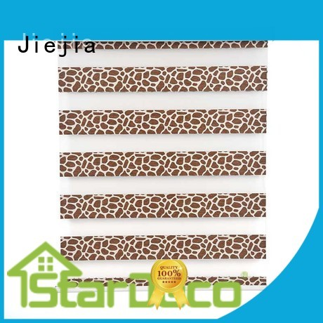 Jiejia zebra window shades anti-uv house