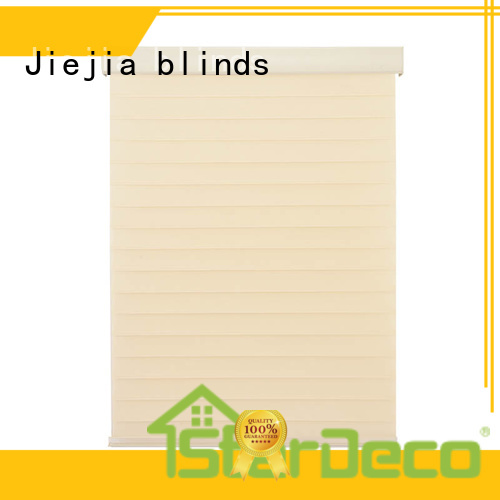 Jiejia ODM oak blinds 100%Polyester house