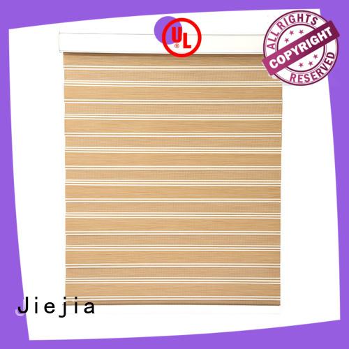 Jiejia zebra window coverings motorized office