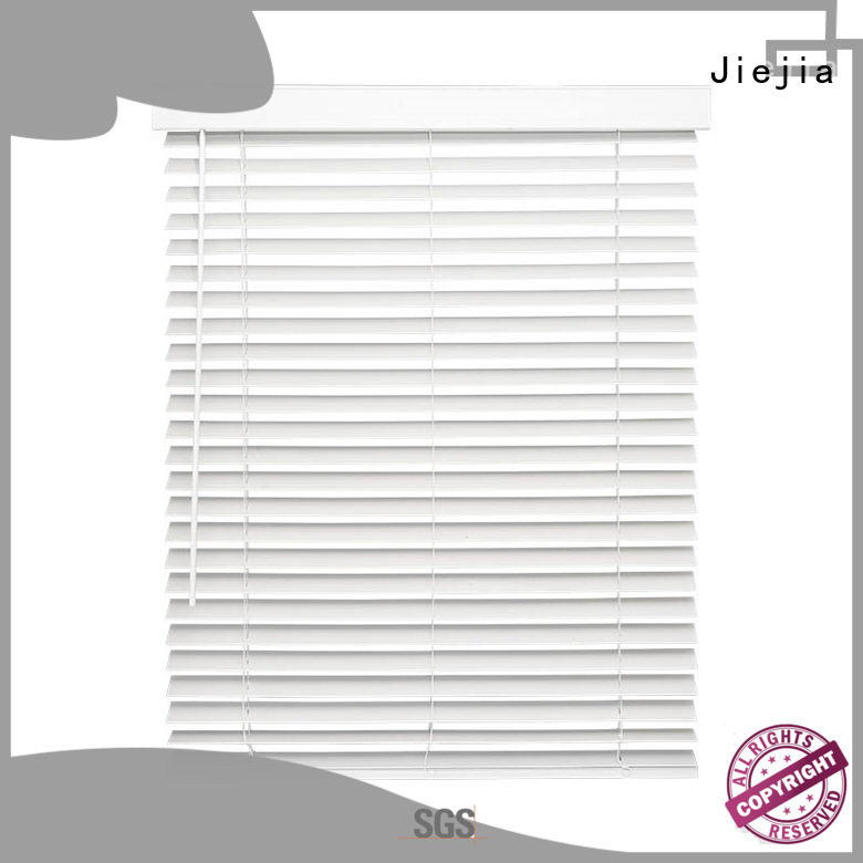 Jiejia Latest faux window blinds factory house