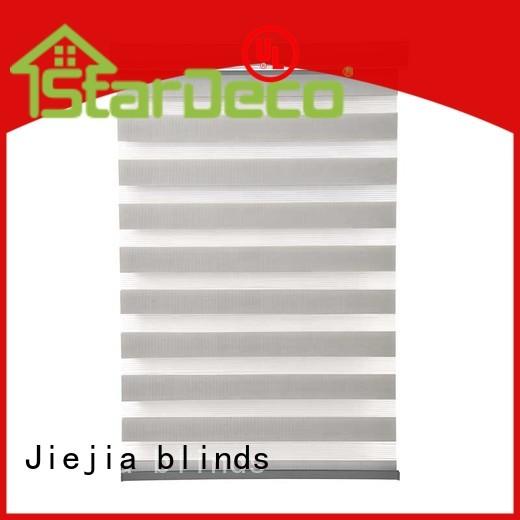 zebra curtains blind restaurant Jiejia