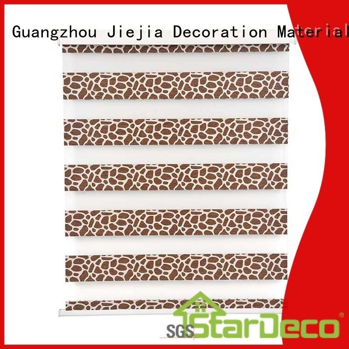 Jiejia zebra blackout manufacturers restaurant