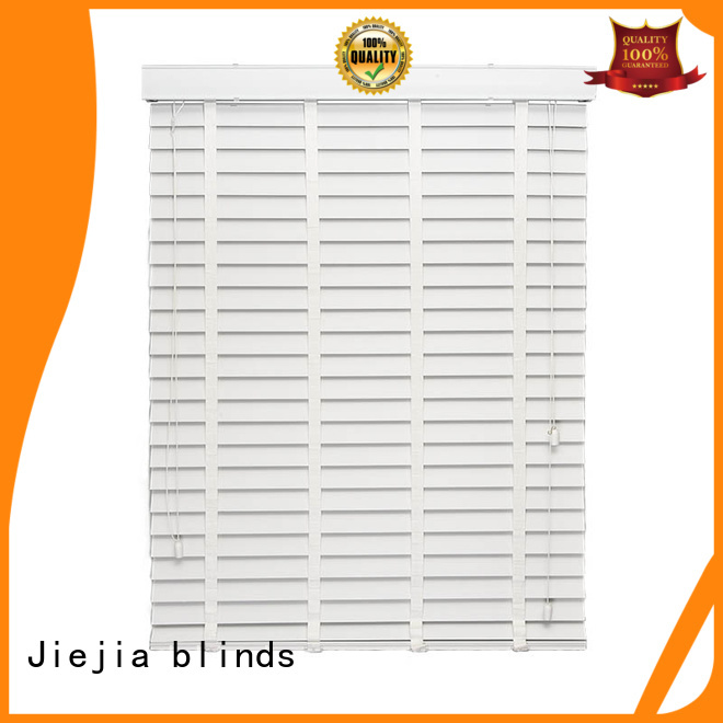 Jiejia vertical window shade venetian blinds flameproof restaurant