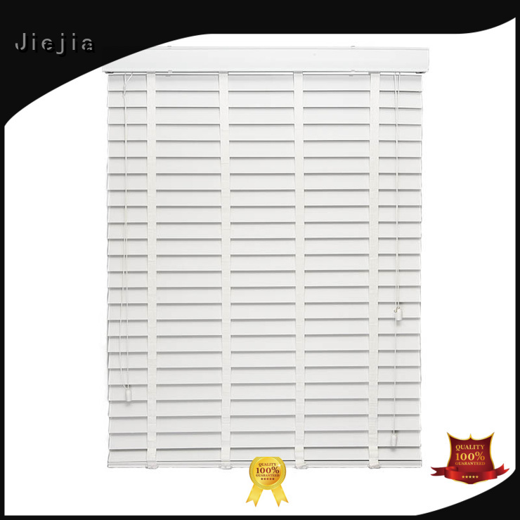 Jiejia timber venetian blinds sunscreen house