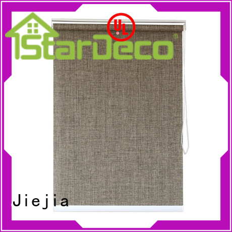 Jiejia New translucent roller blinds flameproof restaurant