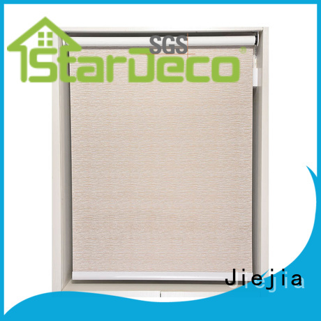 Jiejia blackout roller shades insulated house