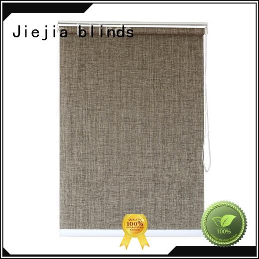 Jiejia electric sunscreen blinds flameproof room