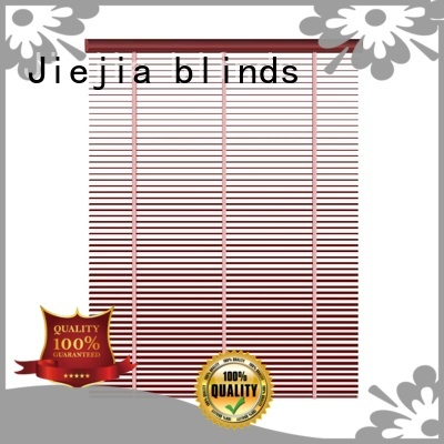 Jiejia flameproof horizontal venetian blinds on-sale restaurant