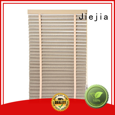 Jiejia timber venetian blinds flameproof room