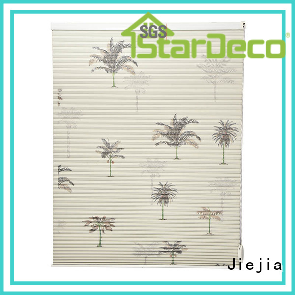 Jiejia blackout cellular shades restaurant