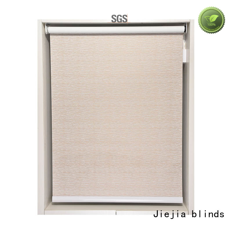 Jiejia high quality roller shades factory hotel