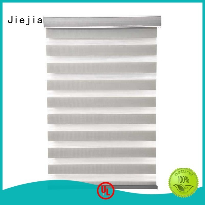 new design motorized zebra blinds high quality office Jiejia