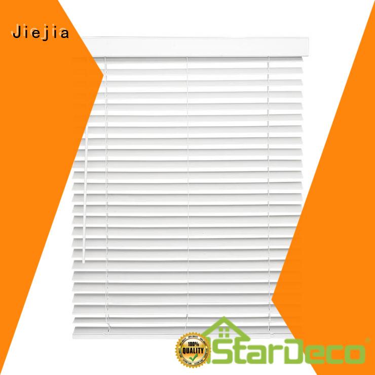 Jiejia Latest insulated window blinds flameproof house