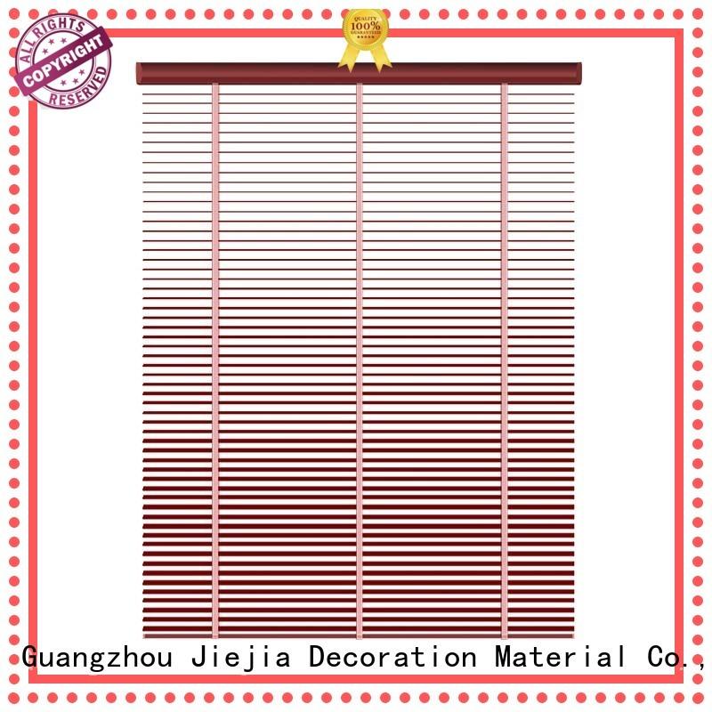 Jiejia 26 inch wide mini blinds for business restaurant