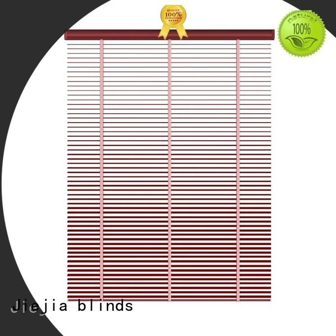 Jiejia anti-uv metal venetian blinds at discount restaurant