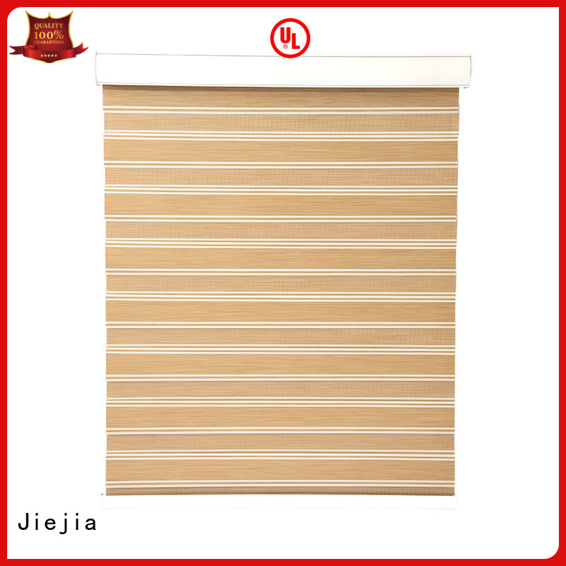 Jiejia black roller blinds Supply office