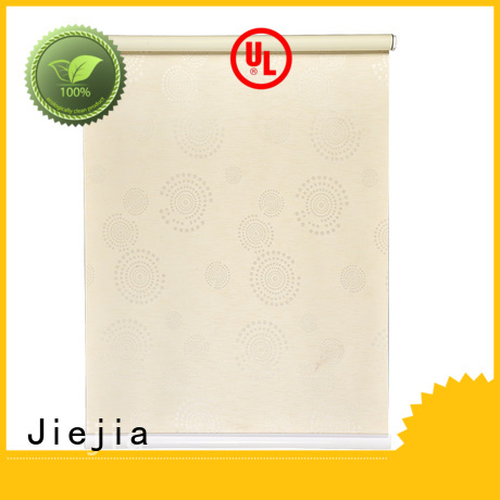 Jiejia adjustable black and white roller blind Supply house
