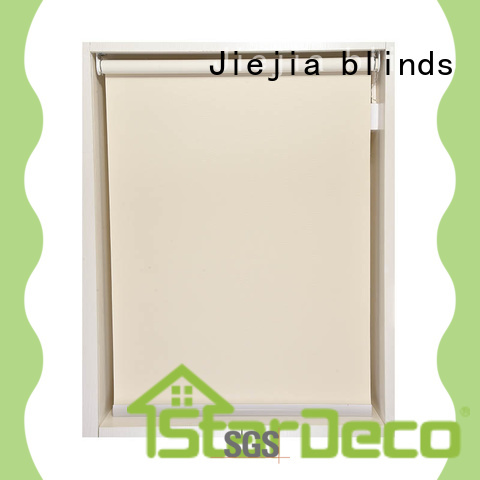 Jiejia roll up sunscreen blinds flameproof house