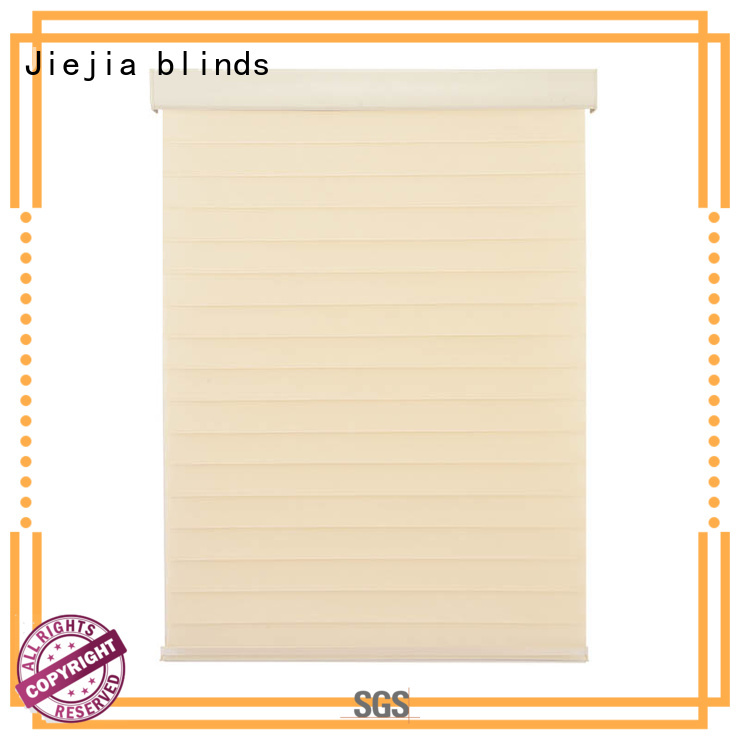 Jiejia Best door with built in blinds company room