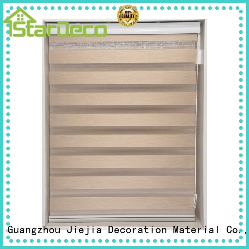 Jiejia manufacturer zebra shutters motorized office