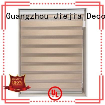 Jiejia horizental zebra shutters high quality office