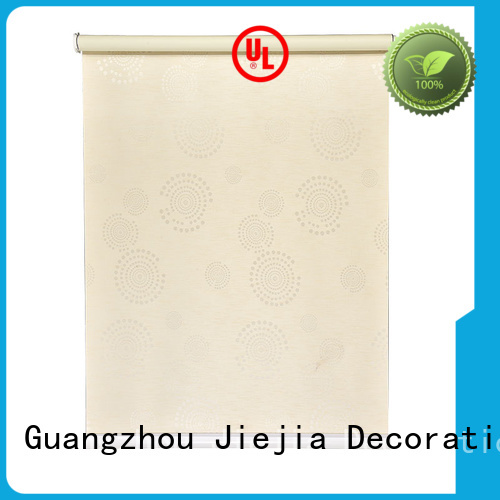 Jiejia adjustable blackout roller blind insulated house