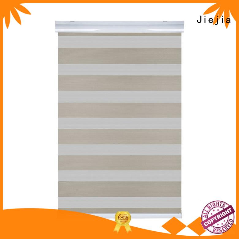 Jiejia double-layer zebra blinds wholesale sunscreen restaurant