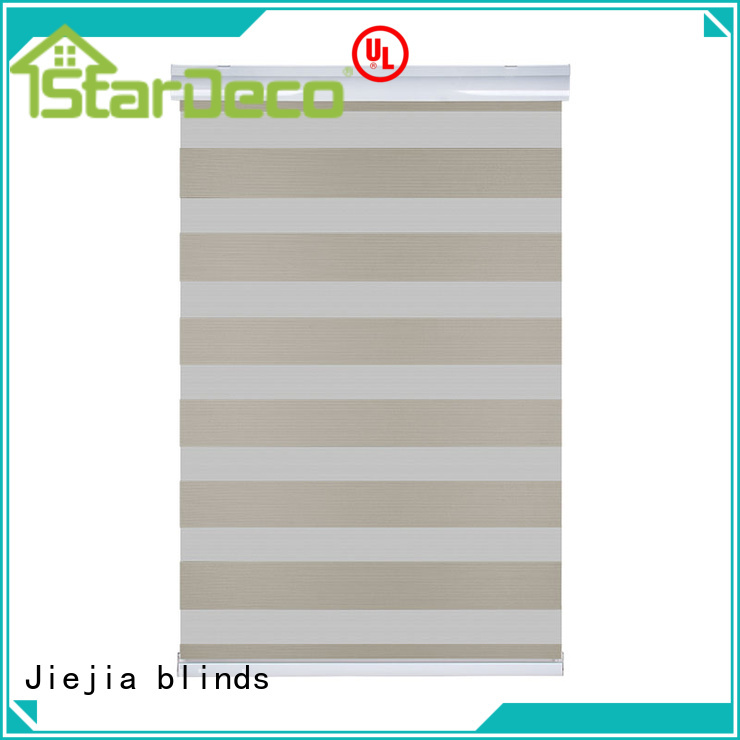 Jiejia custom blackout zebra blinds anti-uv house
