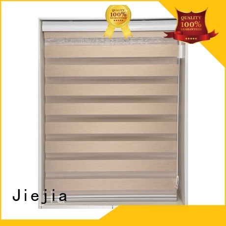 Jiejia manufacturer zebra blind curtain horizontal restaurant